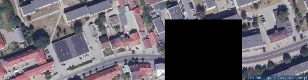 Zdjęcie satelitarne Grodzieńska ul.