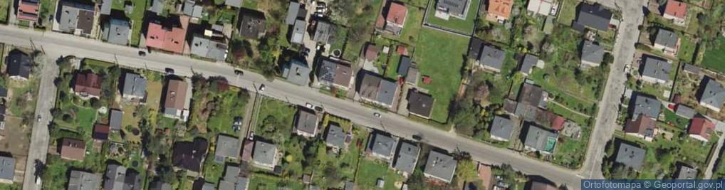 Zdjęcie satelitarne Gruzełki ul.