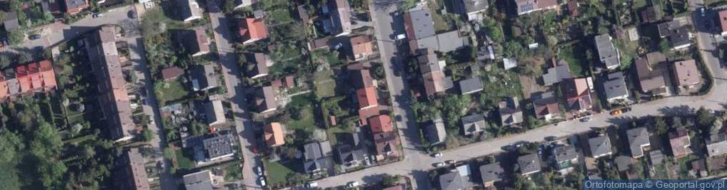 Zdjęcie satelitarne Grabowa ul.