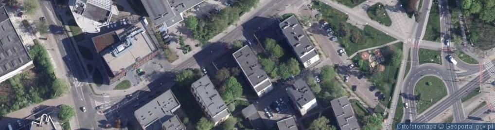 Zdjęcie satelitarne Grudziądzka ul.
