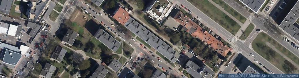 Zdjęcie satelitarne Grodeckiego Kazimierza ul.