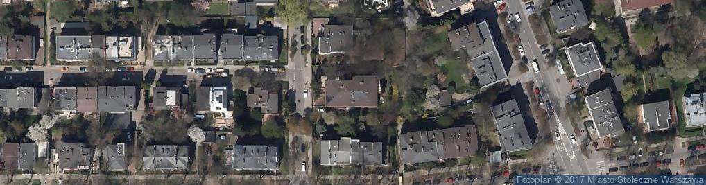 Zdjęcie satelitarne Gruzińska ul.