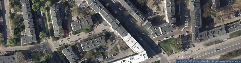 Zdjęcie satelitarne Grenadierów ul.