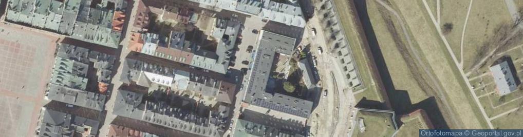 Zdjęcie satelitarne Grecka ul.