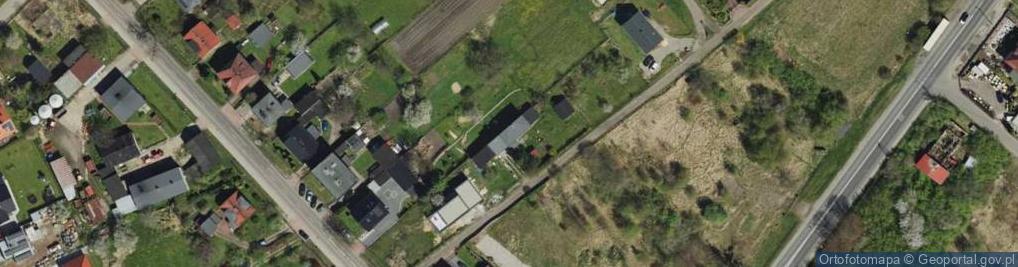 Zdjęcie satelitarne Gutenberga Jana ul.