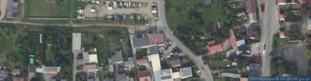 Zdjęcie satelitarne Gumna ul.