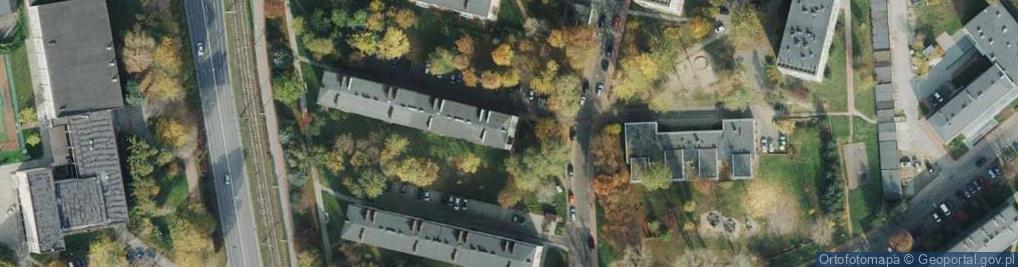 Zdjęcie satelitarne Gwiezdna ul.