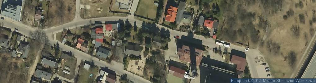 Zdjęcie satelitarne Gwintowa ul.