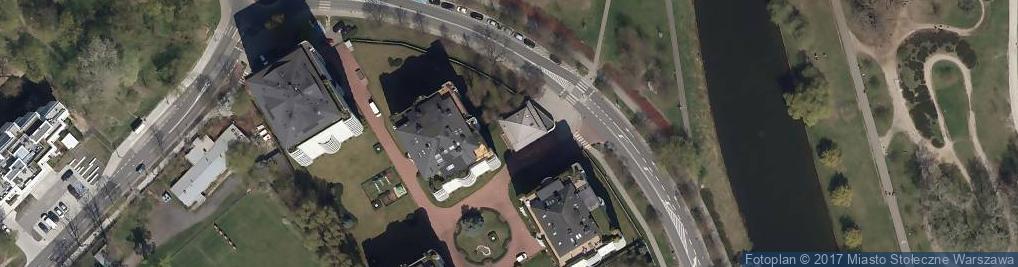 Zdjęcie satelitarne Gwiaździsta ul.