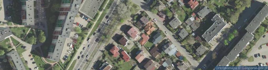 Zdjęcie satelitarne Hallera Józefa, gen. ul.