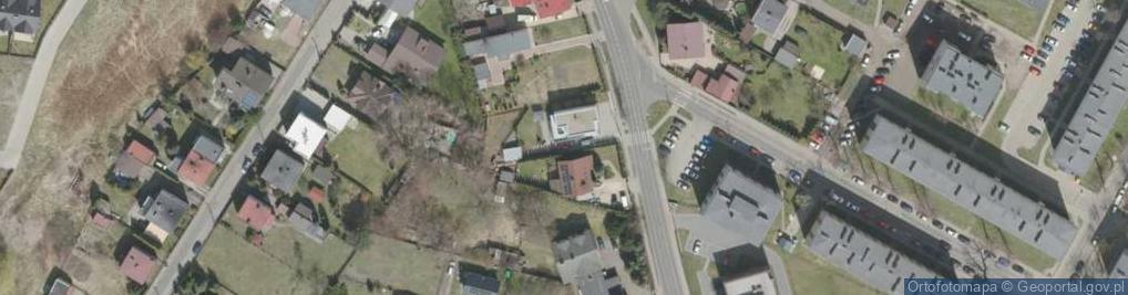 Zdjęcie satelitarne Halembska ul.