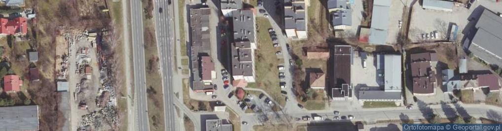 Zdjęcie satelitarne Hanasiewicza ul.