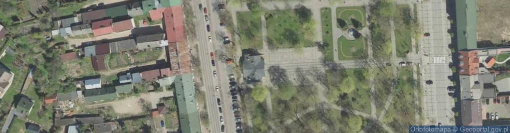 Zdjęcie satelitarne Hamerszmita Kazimierza Aleksandra, ks. ul.