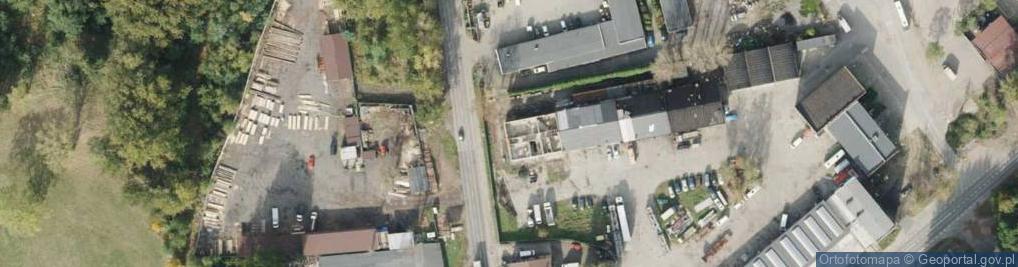 Zdjęcie satelitarne Hagera Bronisława, dr. ul.