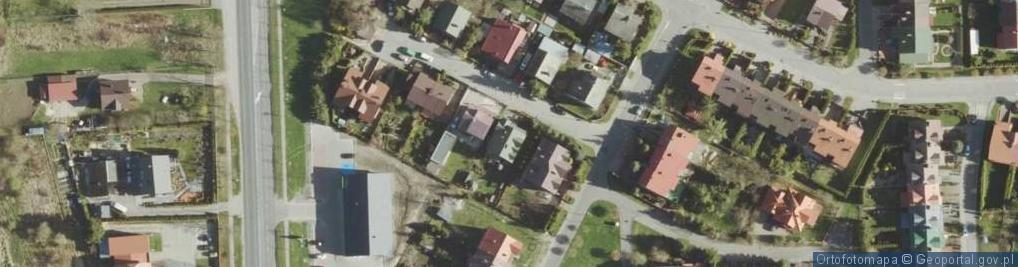 Zdjęcie satelitarne Hempel Marii ul.