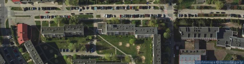 Zdjęcie satelitarne Herdera Johanna Gottfrieda ul.