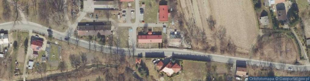 Zdjęcie satelitarne Herburtów ul.
