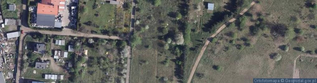 Zdjęcie satelitarne Hebanowa ul.