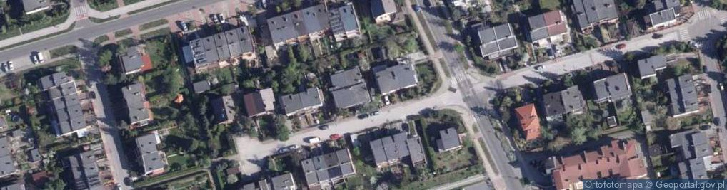 Zdjęcie satelitarne Hiacyntowa ul.