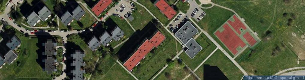 Zdjęcie satelitarne Hlonda Augusta, ks. kard. Prymasa ul.