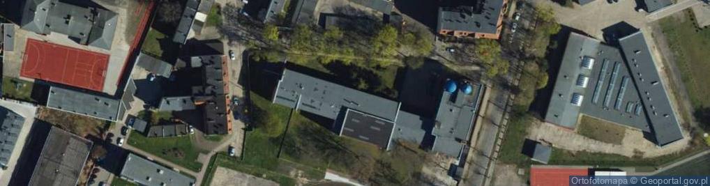 Zdjęcie satelitarne Hoffmanna Alfonsa ul.