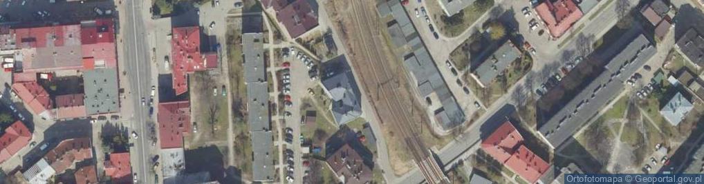 Zdjęcie satelitarne Hoffmanowej Klementyny ul.