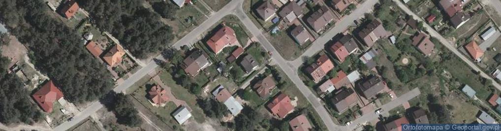 Zdjęcie satelitarne Hompescha Ferdynanda ul.