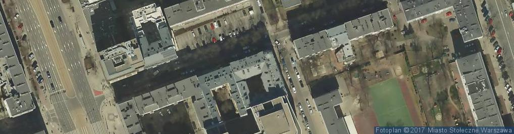 Zdjęcie satelitarne Hoża ul.