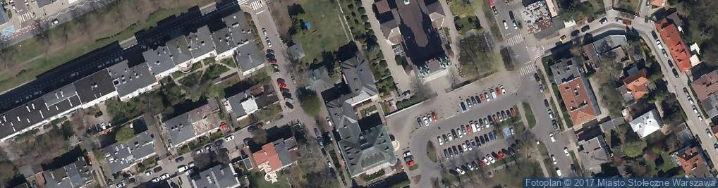 Zdjęcie satelitarne Hozjusza Stanisława ul.