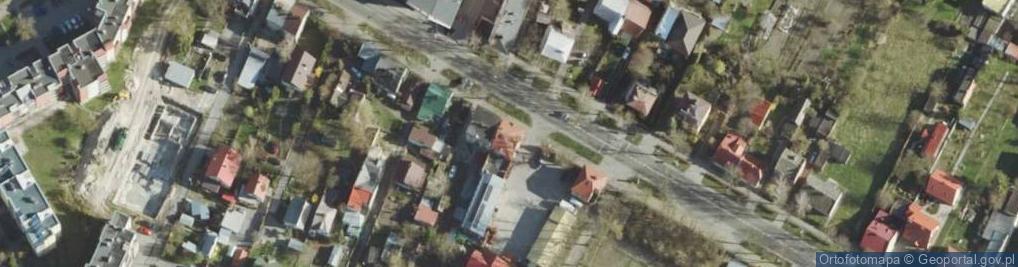 Zdjęcie satelitarne Hrubieszowska ul.