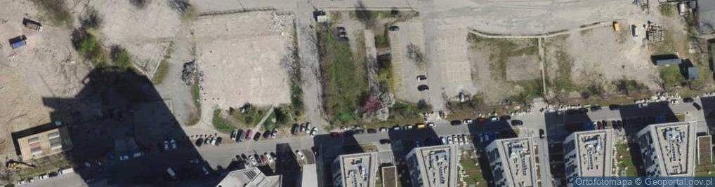 Zdjęcie satelitarne Hryniewickiego A. ul.