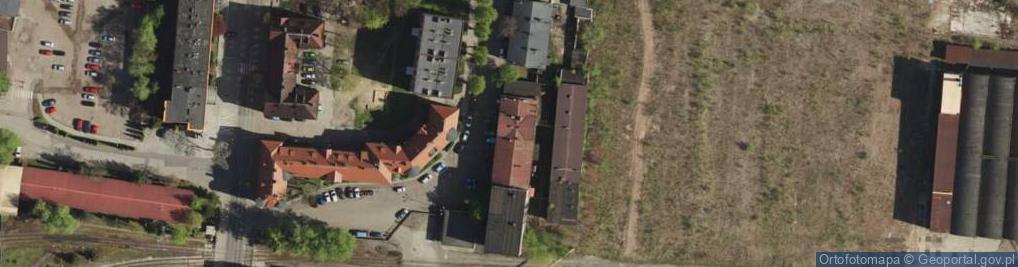 Zdjęcie satelitarne Hutnicza ul.