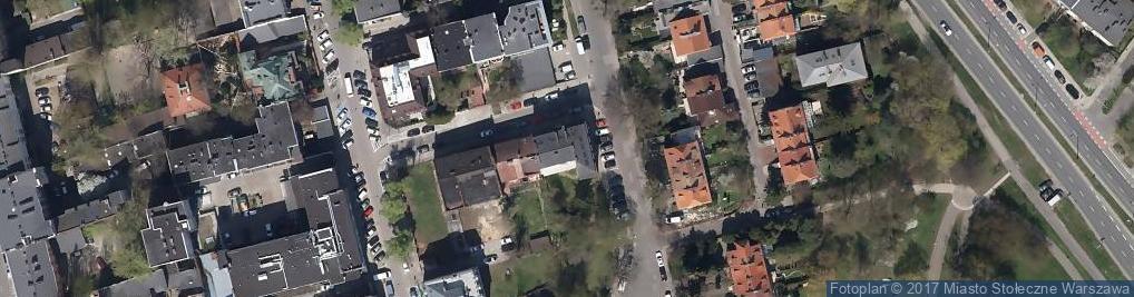 Zdjęcie satelitarne Humańska ul.