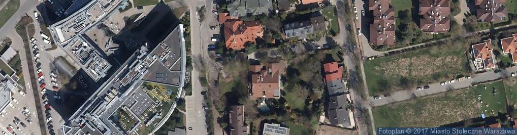Zdjęcie satelitarne Hubera Maksymiliana Tytusa ul.