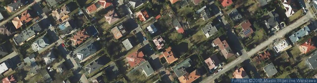Zdjęcie satelitarne Husarii ul.