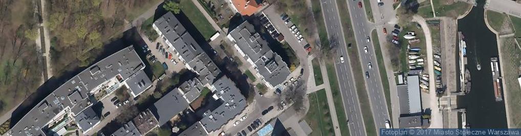 Zdjęcie satelitarne Idźkowskiego Adama ul.