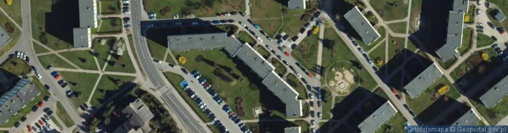 Zdjęcie satelitarne Ikara ul.