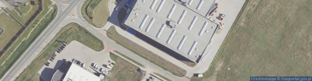 Zdjęcie satelitarne Inwestycyjna ul.