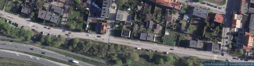 Zdjęcie satelitarne Inowrocławska ul.