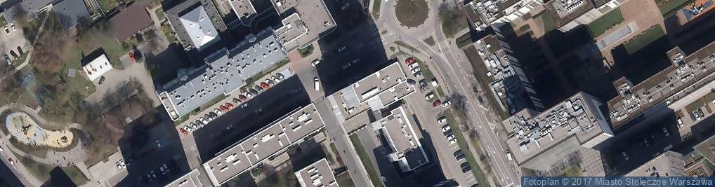 Zdjęcie satelitarne Inflancka ul.