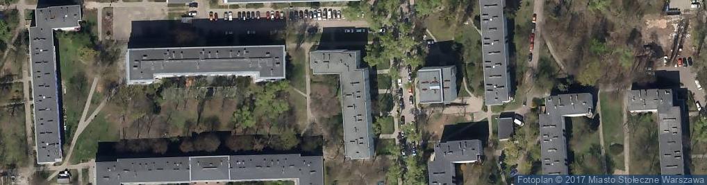 Zdjęcie satelitarne Iwicka ul.