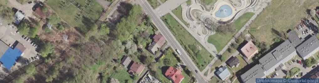 Zdjęcie satelitarne Izydora ul.