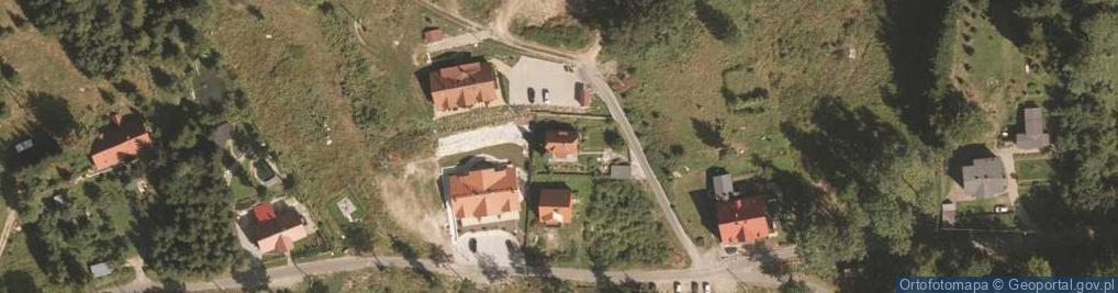 Zdjęcie satelitarne Izerska ul.