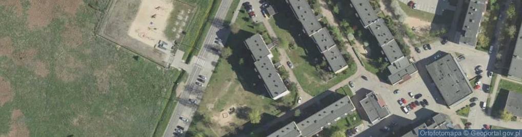 Zdjęcie satelitarne Jarzębinowa ul.