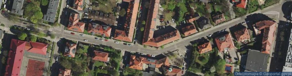 Zdjęcie satelitarne Janasa Wincentego ul.