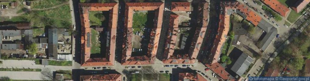 Zdjęcie satelitarne Jaronia Jana Nikodema ul.