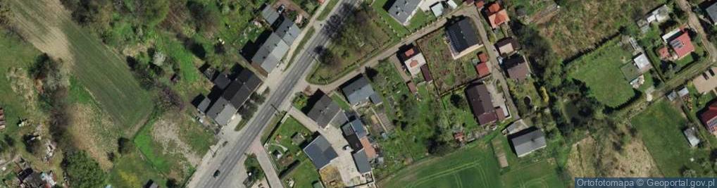Zdjęcie satelitarne Jagodnik ul.