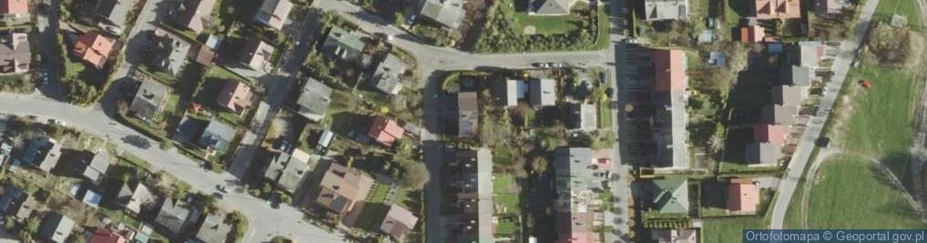 Zdjęcie satelitarne Janowskiego Aleksandra ul.