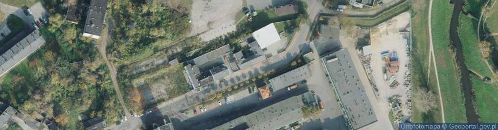 Zdjęcie satelitarne Jaskrowska ul.