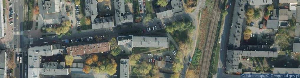 Zdjęcie satelitarne Jasnogórska ul.